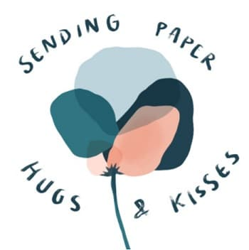 Sending paper hugs and kisses